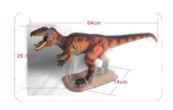 Dinozaur - Gigantozaurus 64cm 1004913