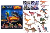 PROMO Dinozaur w saszetce 16 wzorów 1003576 mix Cena za 1szt op.32