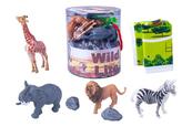 PROMO Zwierzęta figurki dzikie tuba 1003431
