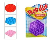PLOP UP! / POP IT! Guma bąbelkowa 4 kolory 3 wzory 620960 mix cena za 1 szt p18