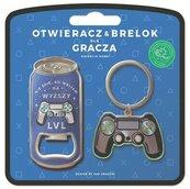 Zestaw brelok + otwieracz dla gracza