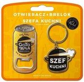 Zestaw brelok + otwieracz dla szefa kuchni