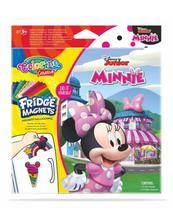 Magnes na lodówkę mix 6 wzorów Minnie 90683 Colorino Creative