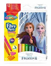 Flamastry 12 kolorów Frozen. Kraina Lodu 91093 Colorino Kids
