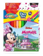 Flamastry 12 kolorów Minnie 90706 Colorino Kids