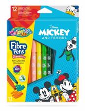 Flamastry 12 kolorów Mickey 89939 Colorino Kids