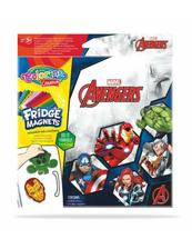 Magnes na lodówkę mix 6 wzorów Avengers 91468 Colorino Creative