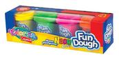 Masa plastyczna Fun Dough 4 kolory Neon 34319 Colorino Creative