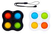 PROMO Zabawka sensoryczna antystresowa POP IT Spiner 4 ramiona 1005347 mix cena za 1 szt