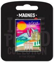 Magnes I love Poland Łódź ILP-MAG-C-LOD-06