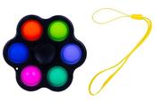 PROMO Zabawka sensoryczna antystresowa POP IT Spiner 6 ramion 1005350