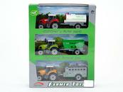 Zestaw Farma 3x Traktor z maszyną 522107