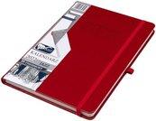 Kalendarz 2022 B5 Tyg. Jazz czerwony ELEFANT