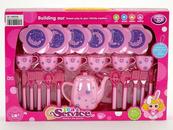 Zestaw naczyń kuchennych różowe 522770