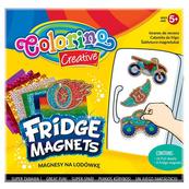 Magnesy na lodówkę NEW mix 4 wzorów display 12 szt Colorino Kids Cena za 1szt