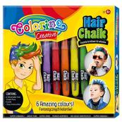 Zestaw pasteli kredowych do włosów 6 szt Boys Colorino Kids 36988
