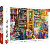 Puzzle 2000el Koci raj 27113 Trefl