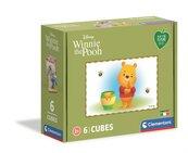 Kostki 6 el Play For Future Winnie The Pooh