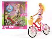 Lalka 29cm na rowerze Defa Lucy 439726