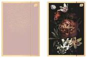 Teczka z gumką A4+ Satin Gold Blossom INTERDRUK mix p10