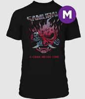 Cyberpunk 2077 Chrome Samurai Premium T-shirt M
