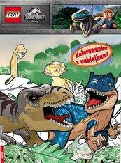 Lego Jurassic World. Kolorowanka z naklejkami