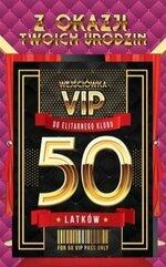 Karnet Urodziny 50 VIP - 08