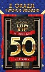 Karnet Urodziny 50 VIP - 07