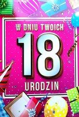 Karnet Urodziny 18 4K - 035