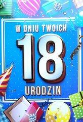 Karnet Urodziny 18 4K - 034