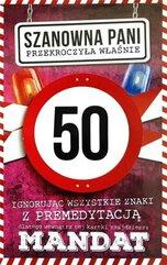 Karnet Urodziny 50 damskie JCX - 014