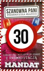 Karnet Urodziny 30 damskie JCX - 010