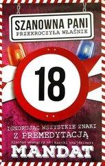Karnet Urodziny 18 damskie JCX - 008