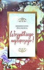 Karnet Najlepsze życzenia 2K - 032