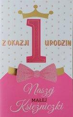 Karnet Roczek dziewczynka 2K - 026
