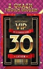 Karnet Urodziny 30 VIP - 04