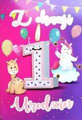 Karnet Urodziny 4K - 042