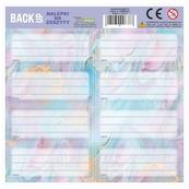 Nalepki na zeszyt BACKUP 4 A 33 Magic style mix p.25