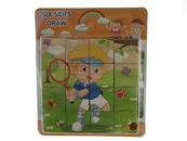 Układanka Puzzle drewniane 543638