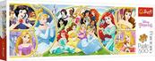Puzzle 500el panorama Powrót do świata Księżniczek. Princess 29514 Trefl p16