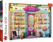 Puzzle 500el Sklepik ze słodyczami 37407 Trefl p8