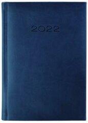 Kalendarz 2022 Dzienny A5 Vivella Granat 21D-06