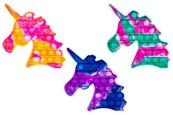 PROMO Zabawka sensoryczna antystresowa gniotek POP IT Bubble Jednorożec 1005340 mix kolorów cena za 1 szt