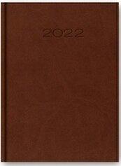Kalendarz 2022 Dzienny A5 Vivella Brązowy 21DR-01