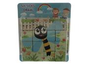 Układanka Puzzle drewniane 543652