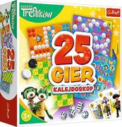 Kalejdoskop 25 gier Rodzina Treflików 02119 Trefl gra p6