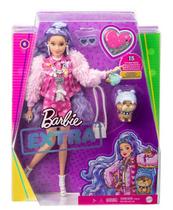 Barbie Lalka EXTRA MODA + akcesoria 6 GXF08 GRN27 MATTEL