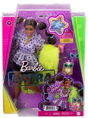 Barbie Lalka EXTRA MODA + akcesoria 7 GXF10 GRN27 MATTEL