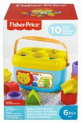 Fisher-Price Pierwsze klocki malucha FFC84 p2 MATTEL