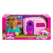 Barbie Chelsea Przyczepa kempingowa + lalka FXG90 p2 MATTEL